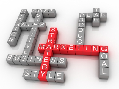 Marketing Strategy Related Words by David Castillo