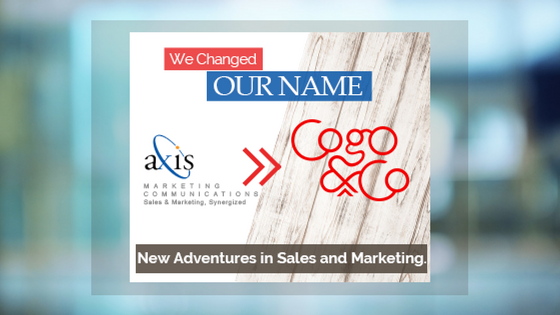 Axis Marketing Communications is Changing